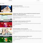 Incremento bestial en Youtube de videos sobre apuestas