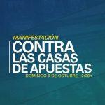 """Manifestación """"Contra las Casas de Apuestas"""" el 6-O"""